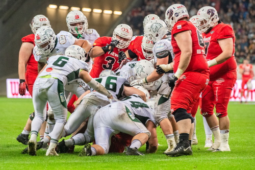 German Bowl 2019, New Yorker Lions vs. Schwäbisch Hall Unicorns